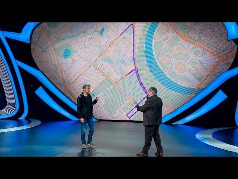 Шоу «Удивительные люди». Арвидас Гайчунас. Человек-навигатор