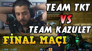 UNLOST TEAM TKT VS TEAM KAZULET 3. MAÇ CACHE (FİNAL MAÇI) | SEKTÖR CUP (15.10.2018)