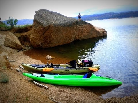 Rampart Reservoir, Colorado - Camping/Kayaking/Fishing Fun