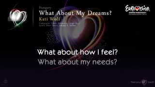 Watch Kati Wolf What About My Dreams video