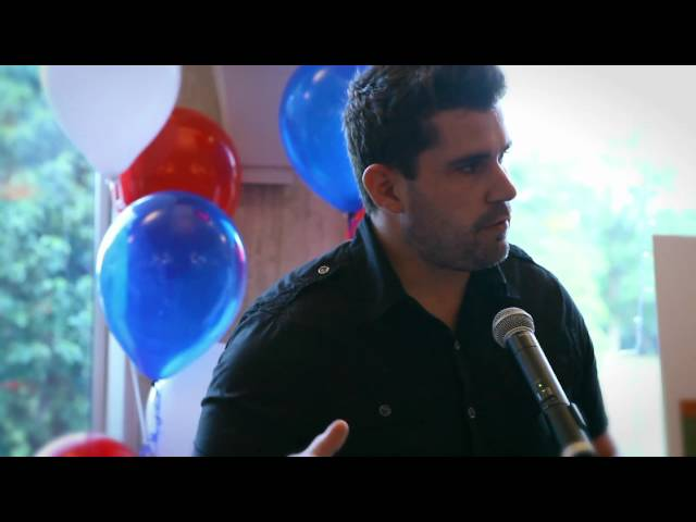 Josh Gracin talks about Little Patriots Embraced