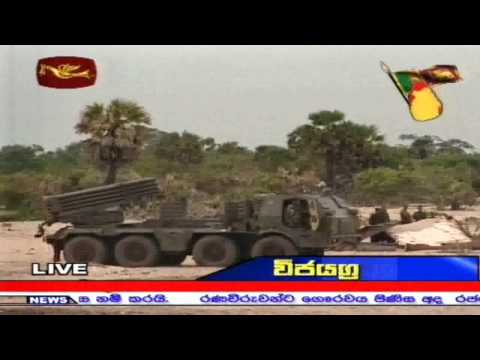 Sri Lanka Army Ceremonially Silences their Guns