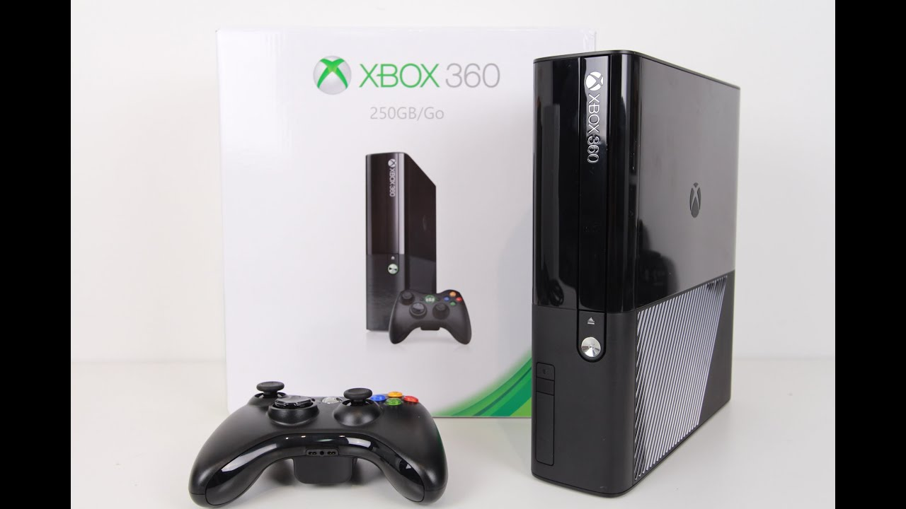 Xbox 360 E Super Slim Unboxing And Giveaway YouTube