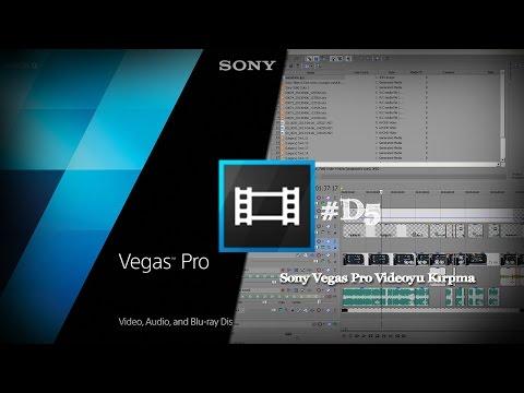Sony Vegas Pro 13 Videoyu Kırpma Ve İmport Media #D5