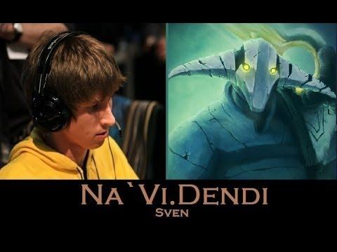 Na`Vi.Dendi Gameplay in Dota 2 on Sven KDA 24/4/13 FULL GAME
