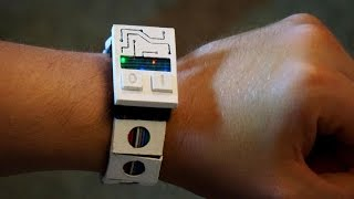 3D Printed Binary Watch | How it Works