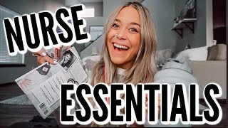 TOP NURSE ESSENTIALS: MY MUST HAVES FOR WORK!