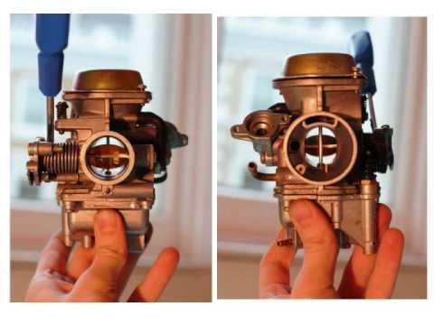 How a carburetor works, schemes and explanations