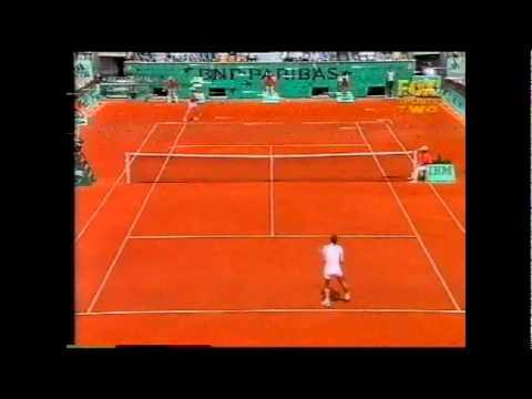 Kim Clijsters v Marlene Weingartner 全仏オープン ハイライト