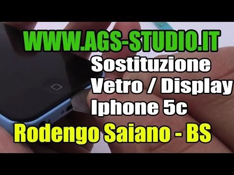 Come smontare iphone 5c sostituzione lcd e vetro iphone 5c lcd glass replacement