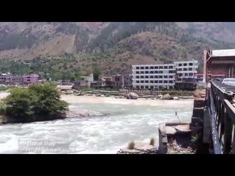 Confluence of Beas   Parvati River  Manali