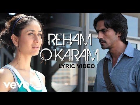 We Are Family - Reham O Karam Full Lyric | Kareena Kajol Arjun...