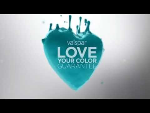 The guarantee is simple and powerful: if you don't love the Valspar color ...