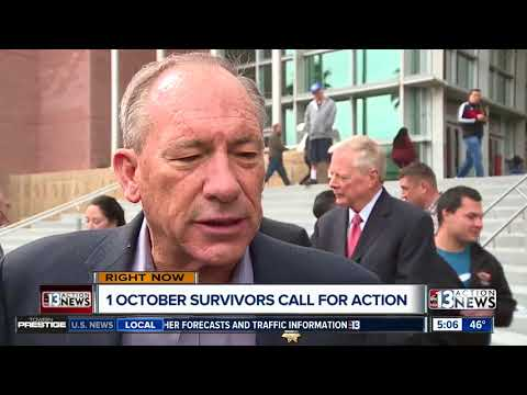 Lawmakers, 1 October survivors fight to enforce loophole in background checks in Nevada