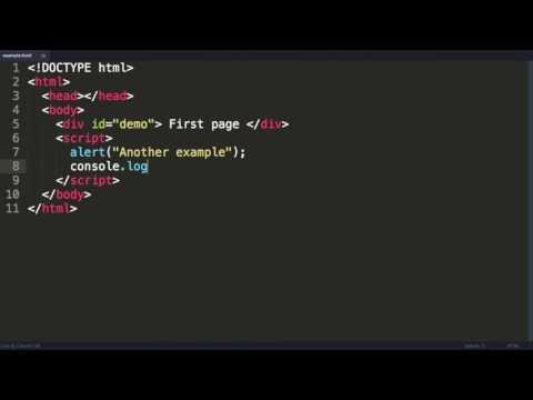 Javascript Tutorial 1  An Introduction to Javascript