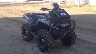 Modded 2012 Can am outlander 1000XT- Walk around aka The One-G