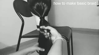 How to make basic braid