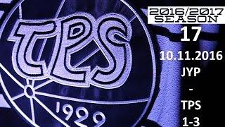 17. JYP - TPS 2016-2017 10.11.2016 MAALIT