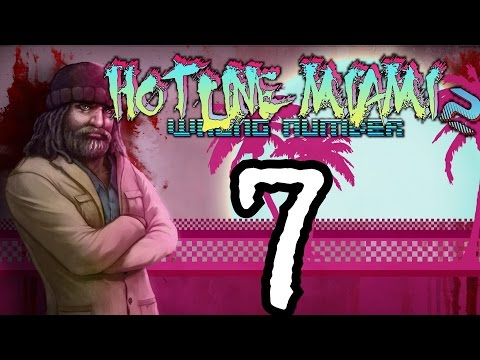 ► Hotline Miami 2 : Wrong Number | #7 | Subway | CZ Lets Play / Gameplay [1080p] [PC]