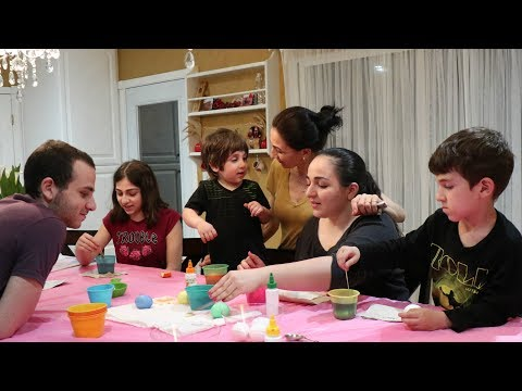 Heghineh Family Vlog #91 - Զատիկի Նախօրեն - Heghineh Cooking Show In Armenian