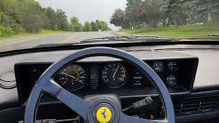 1985 Ferrari Mondial QV - Acceleration, Driving and Tour