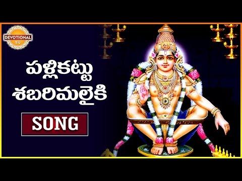 Ayyappa Swamy Special Songs | Pallikattu Sabarimalaiki | Telugu Devotional Songs | Devotional  TV
