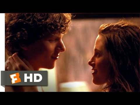 Adventureland Movie Clip - watch all clips http://j.mp/Ak1T9j click to subscribe http://j.mp/sNDUs5 James (Jesse Eisenberg) and Em (Kristen Stewart) catch up...