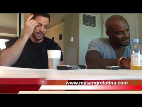 2014 Addicted Roundtable Interview With Tyson Beckford And William Levy video