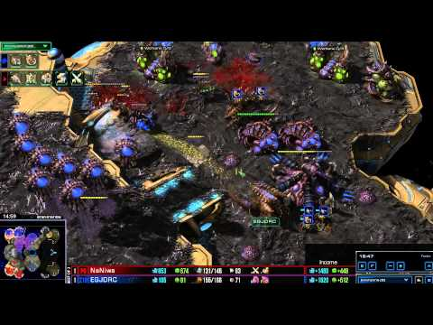 HD Starcraft 2 EG.Jaedong v Naniwa ZvP Heart of the Swarm