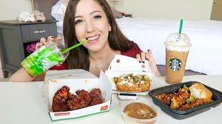 NEW FAST FOOD MUKBANG!! McDonalds, Taco Bell, KFC Eating Show