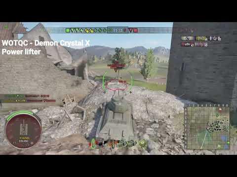 WOTQC - Demon Crystal X - World of Tanks Xbox - Power lifting Session