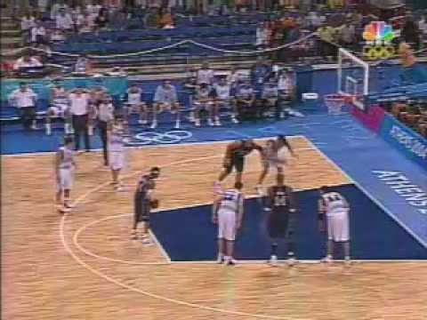 USA v Argentina 2004 Athens Olympics full game