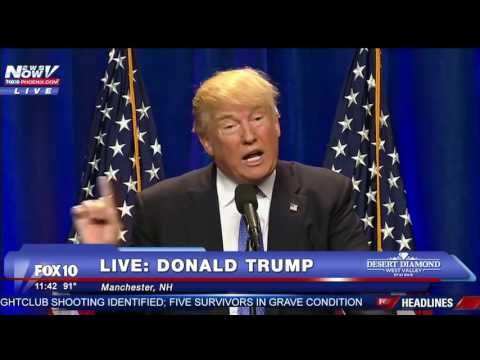 FULL: Donald Trump Orlando Terrorism Speech 6/13/16