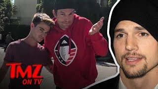 Ashton Kutcher Accidentally Nailed A Young Man   TMZ TV