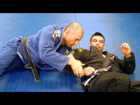 Kimura reversal/submission from half guard - Ironside Martial Arts, Hurst/Euless/Bedford TX Image 1