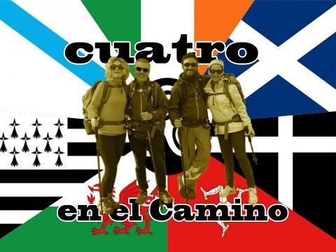 """Camino de Santiago """"Cuatro en el Camino"""" El Camino Inglés.Travel Guide"""