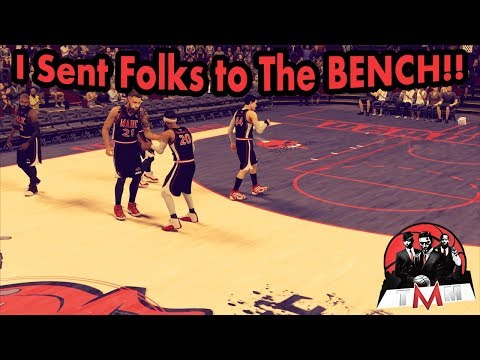 Sent Em To the BENCH | NBA 2K18 Pro AM | Roster Shakeup