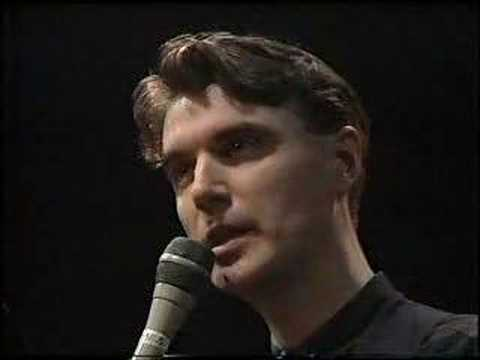 David Byrne - Tree (Today is an Important Occasion) [K
