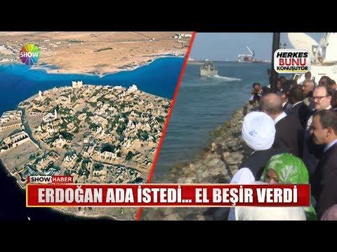 Erdoğan Ada istedi... El Beşir verdi