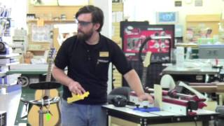 Using the 45 degree Lock Miter Bit