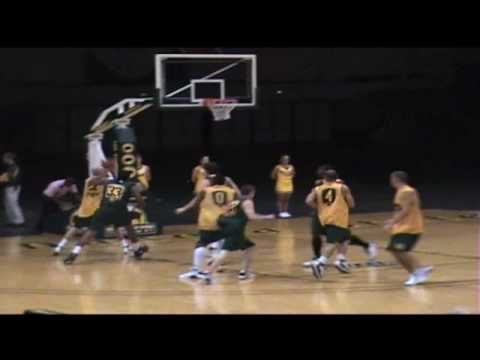 NDSU Bison Basketball 2008 Midnight Madness - Late Show NCAA Tournament