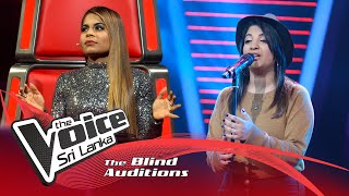 Melissa Perera - Runnin' (Lose It All) | Blind Auditions | The Voice Sri Lanka