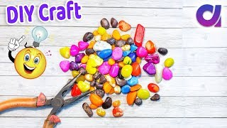 4 Awesome Stone Craft ideas to make in 5 minutes | DIY Project Ideas | Artkala 474