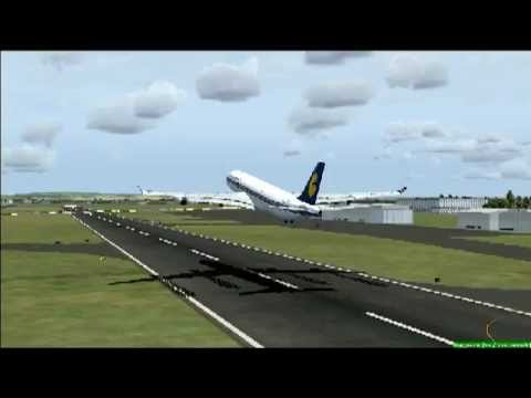 JET AIRWAYS EMERGENCY LANDING [FSX]