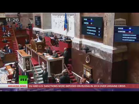 French parliament votes to lift anti-Russian sanctions imposed by EU