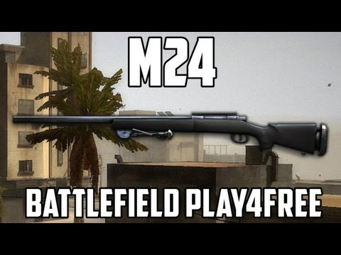 Battlefield Play4free M24 Gun Review