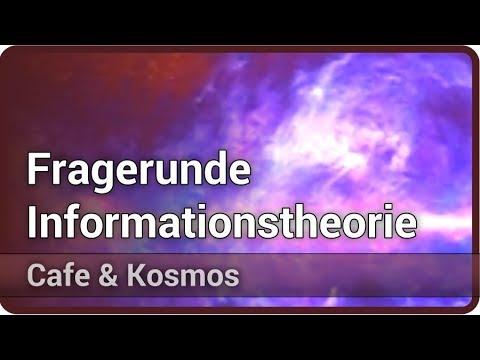 Fragerunde zur Informationstheorie • Cafe & Kosmos | Torsten Enßlin
