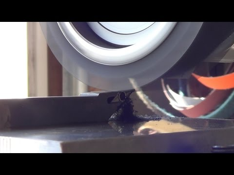 Knifemaking Tuesdays Week 94 - Dressing the belt drive wheel on the Tormach PSG612