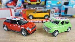 Mini cooper S die cast model - Car toys review for kids