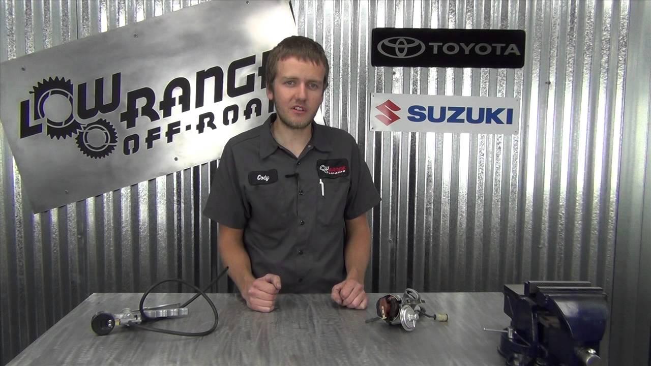 Suzuki Samurai Distributor Vacuum Advance